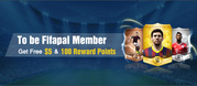 How to become a Member of FIFAPAL to Get a $5 Voucher and 100 Reward P